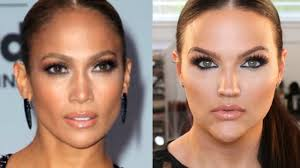 jlo billboard awards inspired makeup 2017