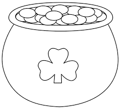 Small Picture Download Coloring Pages Shamrock Coloring Page Shamrock Coloring
