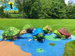 my splash pad water play features manufacturer installer of splashpad toys
