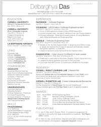 One Page Resume Template Latex