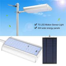 2019 5 mode solar lights outdoor radar motion sensor and remote control 70led 1100lm aluminum shell security lighting for porch garage from sunway168