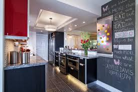 cheap kitchen remodel ideas. Kitchen Renovation With Chalkboard Wall Cheap Remodel Ideas