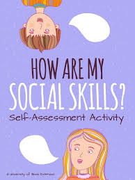 High Interpersonal Skills How Are My Social Skills Self Assessment Activity Great Activity