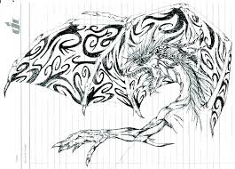 Dragon Coloring Pages Printable Detailed Dragon Coloring Pages