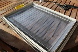 diy dog doors. ...which Is Important When We Bring Back The Wider Flap, Line It Up At Top Edge, And Smooth Down In Place, Pressing Hard On Portion Covering Diy Dog Doors