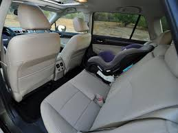 2015 subaru outback interior back seat. Christian Wardlaw Rear Passengers In The 2015 Subaru Outback Have Good Amount Of Legroom And More Than Interior Back Seat