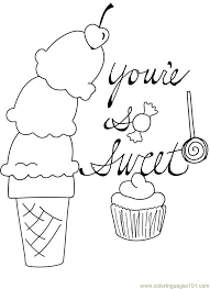 Small Picture Coloring Pages Candy Coloring Pages For Kids Printable Free Free