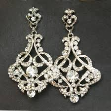 astounding crystal chandelier bridal earrings vintage diamond chandeliers waterford for lighting led bulbs lamp