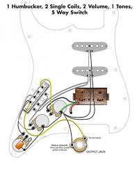 help with 2 volume wiring (hss) fender stratocaster guitar forum Hss Wiring 5 Way Switch thanks for your suggestions, someone sent me this on a different forum, looks really good so going to try it today, the treble bleed mod would fit in there hss wiring 5-way switch