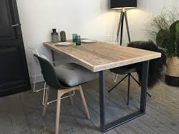 Oppland Industriele Tafel Extra Robuust Steigerhout Pure Wood Design