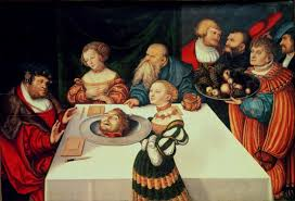lucas cranach the elder the feast of herod