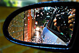 secret to answering where do you see yourself in years  car mirror reflection