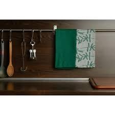 Купить <b>Набор</b> муслиновых <b>кухонных полотенец</b> с графичным ...