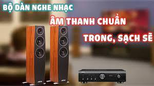 Đánh giá nhanh dàn Âm Thanh Nghe Nhạc Stereo 2019 cao cấp chính hãng Jamo,  Denon - YouTube