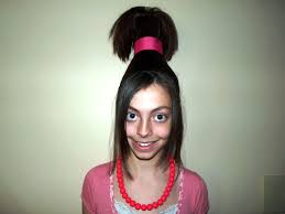 Crazy Woman Hair Style wacky hair day ideas for long hair all home ideas and decor 7954 by wearticles.com