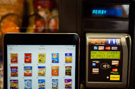 Eport Vending Machine Fascinating Gimme Vending Keeps Your Favorite Snacks In Stock With IoT