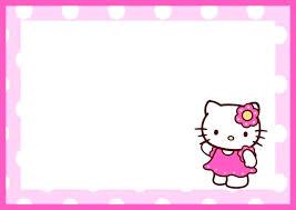 invitation card hello kitty printable birthday invitations hello kitty free download them or print