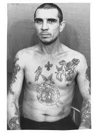 татуировки на теле заключенных и их обозначение