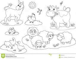 farm animals coloring pages for kids printable animal farm coloring pages democraciaejustica