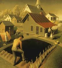 grant wood and regionalism visions on rural life and work