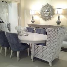 Transitional Dining Room Furniture Gorgeous Cheap Mirrored Furniture In Dining Room Transitional With