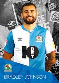 Rovers Bradley Johnson Postcard