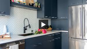 Makeover A Small Kitchen With Dramatic Dark Cabinets