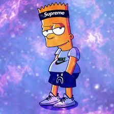 Bart Simpson Smoking Weed Wallpaper ...