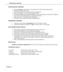 Testing Resume Sample For 3 Years Experience And Sample Resume For 3