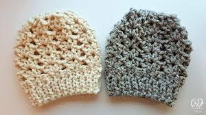 Free Crochet Ponytail Hat Pattern Unique Easy 48 Minute Free Crochet Hat Pattern With Video Oombawka