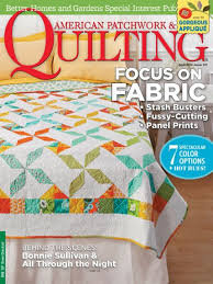 American Patchwork & Quilting April 2014 | AllPeopleQuilt.com & April 2014. The April 2014 issue of American Patchwork & Quilting ... Adamdwight.com