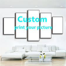 custom wall art 5 pieces painting calligraphy wall poster custom wall art canvas prints landscape style custom wall art  on customised wall art stickers uk with custom wall art personalized canvas wall art canada navenbyarchgp
