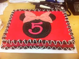 Misslaylacakes Blog Archive Red Minnie Mouse Cake