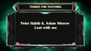Peter Habib & Adam Nierow - Lost with me - YouTube