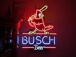 Urby® cardinal busch beer Neon Light Sign Beer Bar Pub <b>Real</b> ...