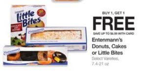 Entenmanns Mini Crumb Cakes Or Pound Cakes For 185 At Kroger