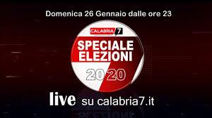 Speciale Elezioni Regionali Calabria 2020 - Live stream di Calabria7.it