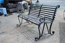Amazing Of Metal Outdoor Bench Metal Outdoor Benches Garden Metal Bench