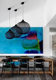 american signature furniture tampa with contemporary dining room and abstract painting black pendant light clean expansion