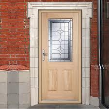 glazed exterior timber doors. winchester external oak part l door with semi obscure zinc double glazing glazed exterior timber doors