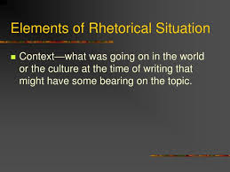the best and worst topics for rhetorical situation essay the situation is rhetoric since instead of brando acknowledging the award or going in person in front of the audience and rejects the award