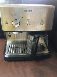 A coffee and espresso combo machine might seem like a really obvious innovation, but the two use different processes to make beverages. Coffee Espresso Maker Machine Combination 10 Cup Drip Kitchen Small Appliances For Sale Online Ebay