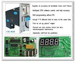 Vending Machine Not Taking Coins Mesmerizing Amazon [Sintron] Multi Coin Acceptor Selector CH48 And USB