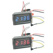 Car electronic clock DIY <b>creative LED digital</b> tube Car clock ...