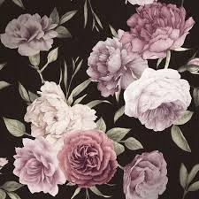 I Love Wallpaper Midnight Floral ...