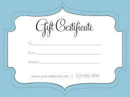 blank gift certificate template free gift certificate template free best photos of gift certificate