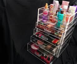 ... 6-drawer Kardashian style acrylic makeup organizer ...