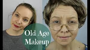 old age makeup tutorial