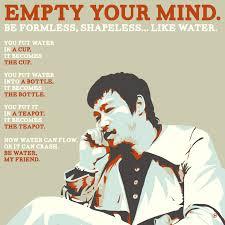 Mind Quotes Unique Empty Your Mind Bruce Lee Happy Birthday [48x48] OC