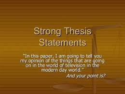 examples of good thesis statements how do i develop a good thesis  here is an example of how you might
